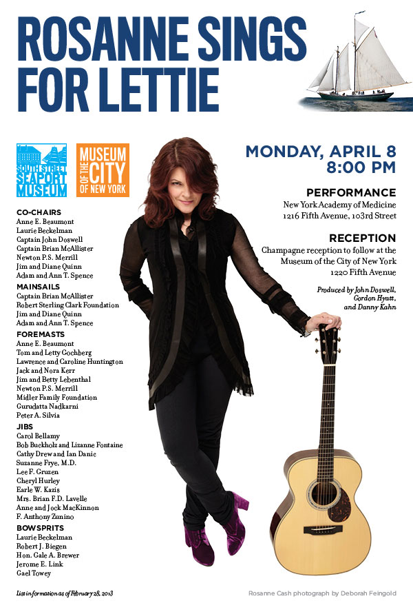 Rosanne Sings for Lettie April 8